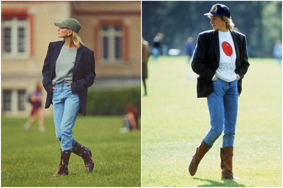 Hayley Bieber Is Going For Princess Diana Vibes In Her Vogue Photoshoot #5   Her Beauty