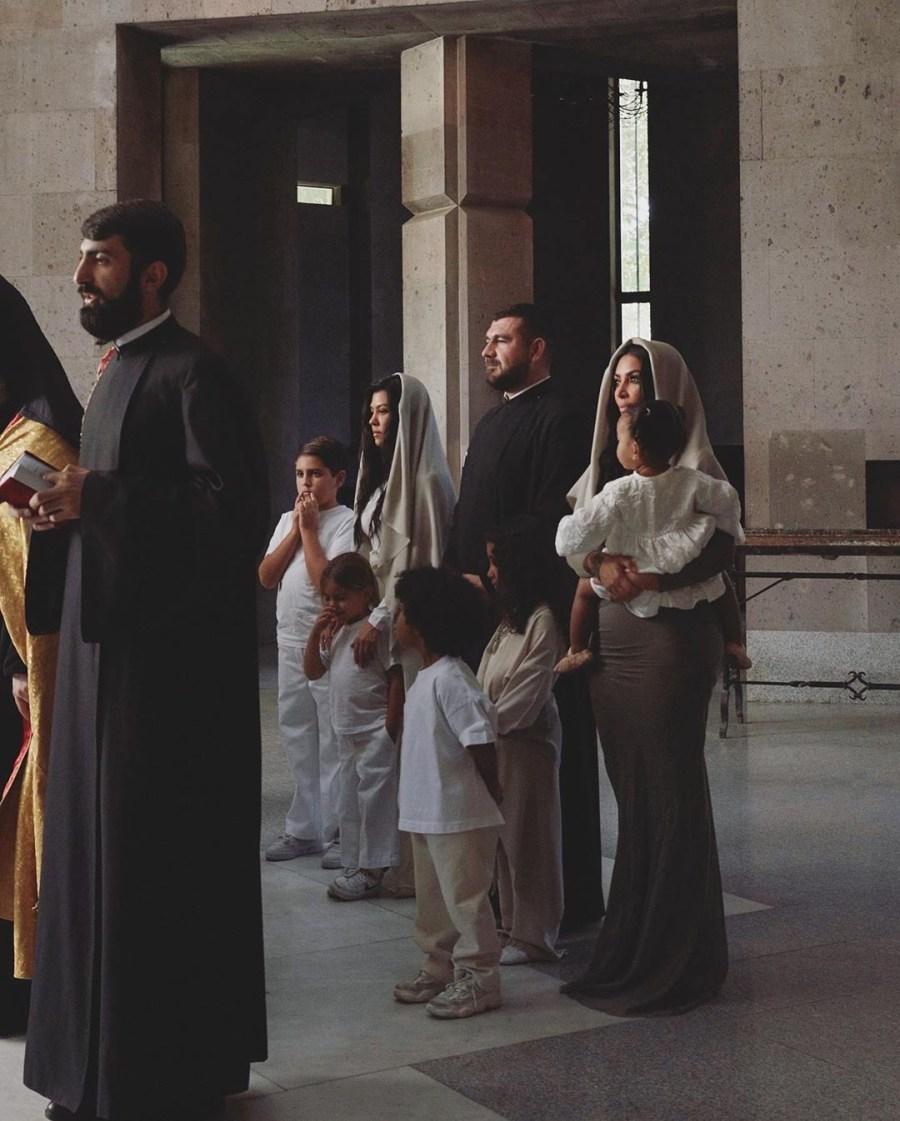 Kim Kardashian And Her Kids Baptized In Armenian Church #8   Her Beauty