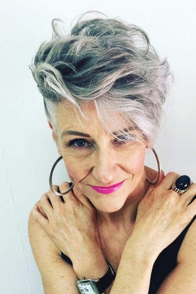 Short undercut pixie   Short Hairstyles For Women Over 50   Her Beauty