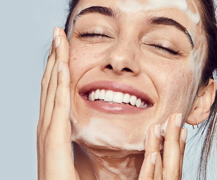 Try a gentler cleanser | 9 Simple Tips to Relieve Dry Skin Fast | Her Beauty