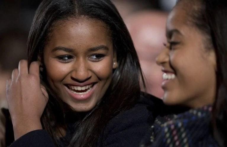 ساشا هو في الواقع لقبها |  8 حقائق عن ساشا أوباما نتمنى أن نشاركها معك |  التوت الدماغ