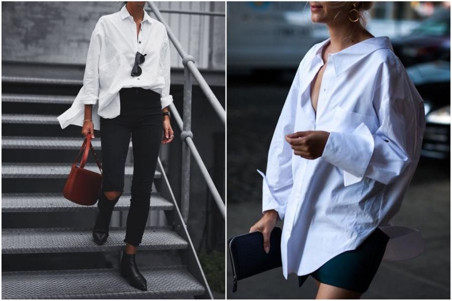 Basic Button Down | 9 Items From Men's Wardrobe Women Should Totally Wear | Her Beauty