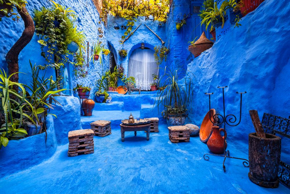 morocco blue city