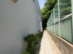 安居神社の路地