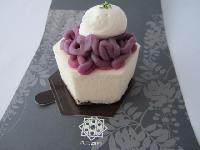 紫芋のマスカルポーネ