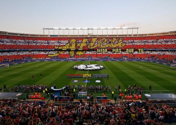 Temp. 16/17 | Atlético de Madrid - Leicester | Afición padres e hijos