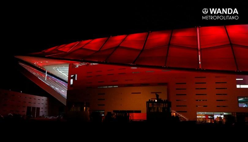 Plano del Wanda Metropolitano