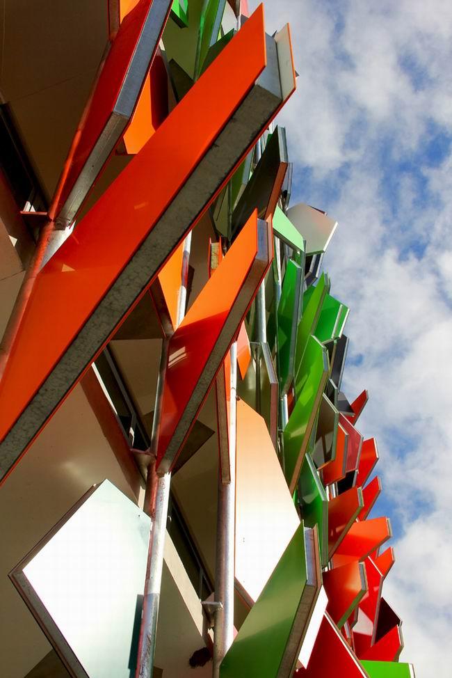 Pixel Building - здание, которое вырабатывает больше энергии, чем потребляет. Мельбурн, Австралия