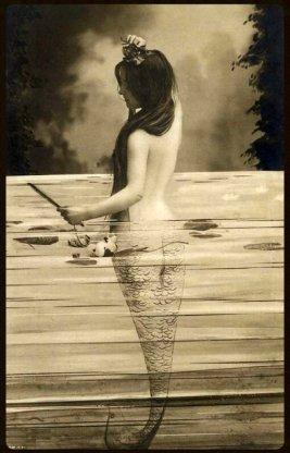 French postcard, ca 1900