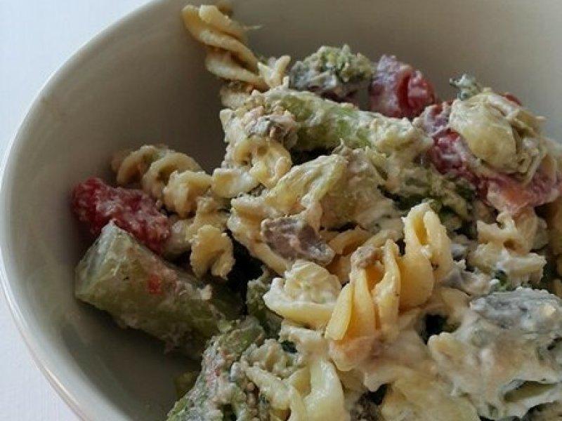 makarna salatası 1