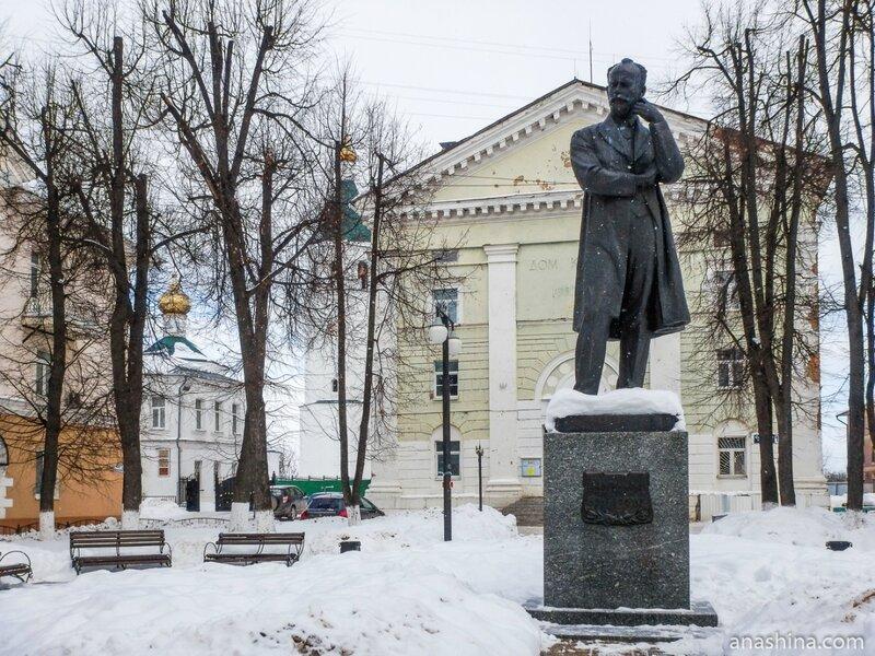 Памятнику Чайковскому, Клин