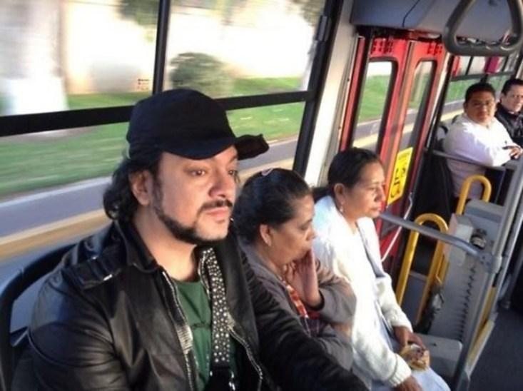 Филипп Киркоров проехал в автобусе, и никто его не узнал!