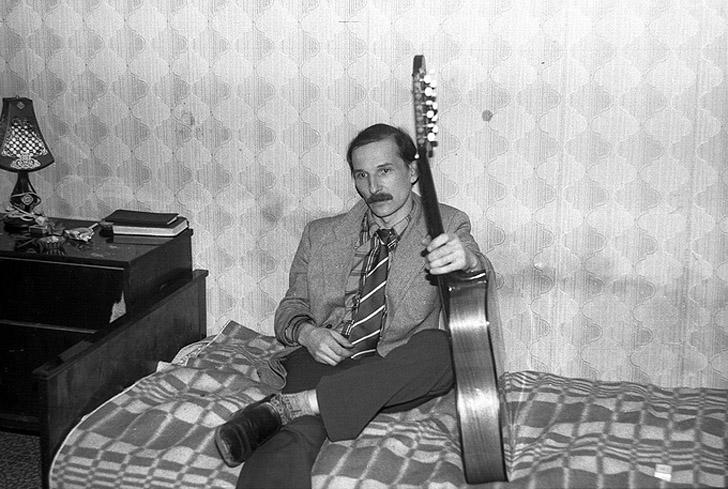 Петр Мамонов, квартирник, Москва, 1985 год.