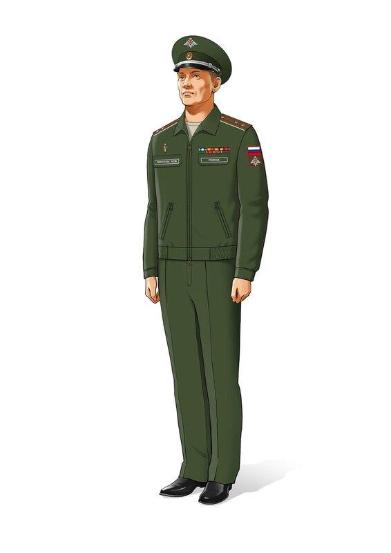 близкий образцы офисной военной формы вс рф фото умные поздравления