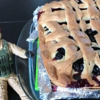 Бабушкин пирог со смородиной