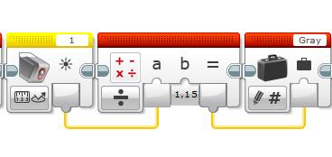 П-регулятор в  LEGO® MINDSTORMS® EV3 (2/5)