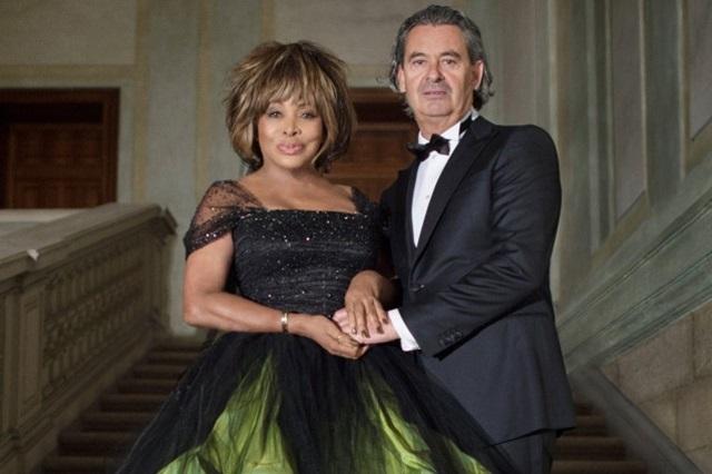 Свадьба Тины Тернер и продюсера Эрвина Баха в Швейцарии