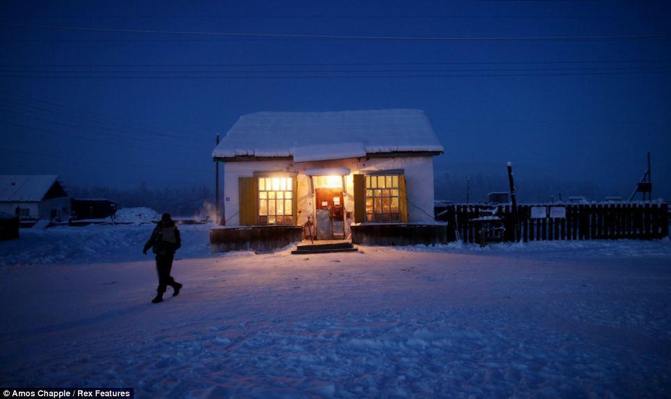 18. Единственный магазин в селе.