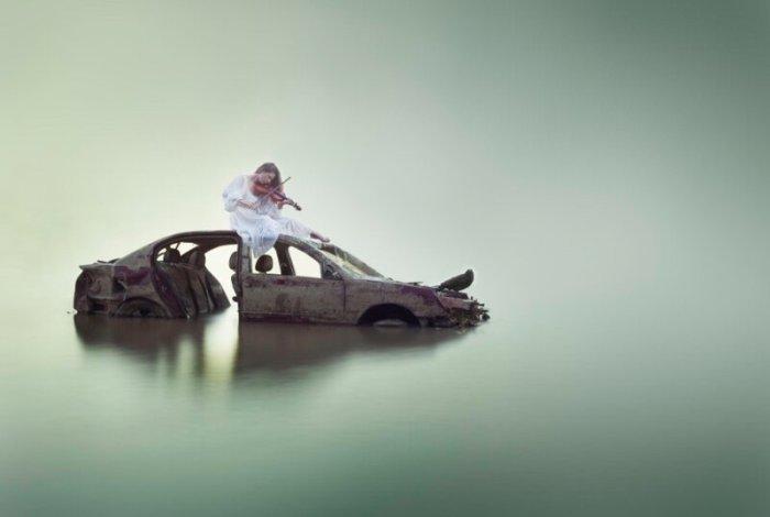 Дженна Мартин. Полёты над и под водой...