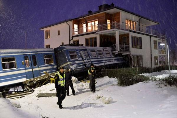 В Швеции уборщица угнала пассажирский поезд