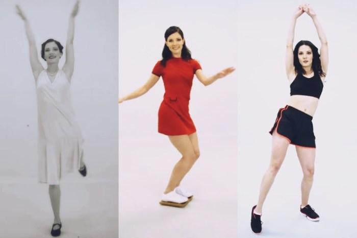 Интересное видео: 100 лет фитнеса за 100 секунд