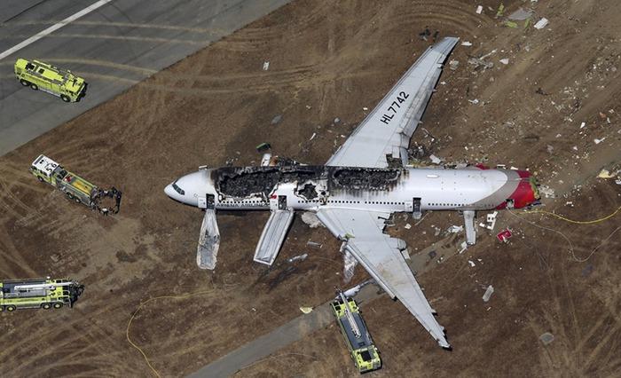 Авиакатастрофа в Сан Франциско