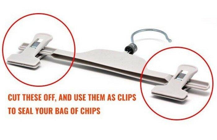 Прищепка и чипсы