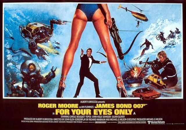Все фильмы об агенте 007 в галерее «Ленты.ру»