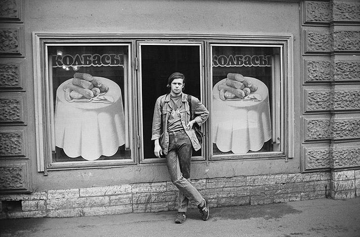 Борис Гребенщиков, Ленинград, 1986 год.
