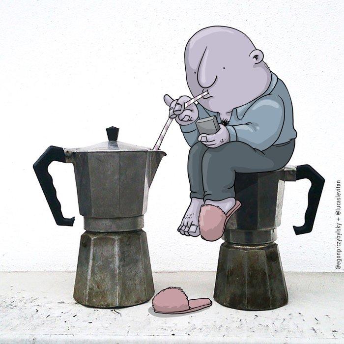 Лукас Левитан. Художник изменяющий реальность.