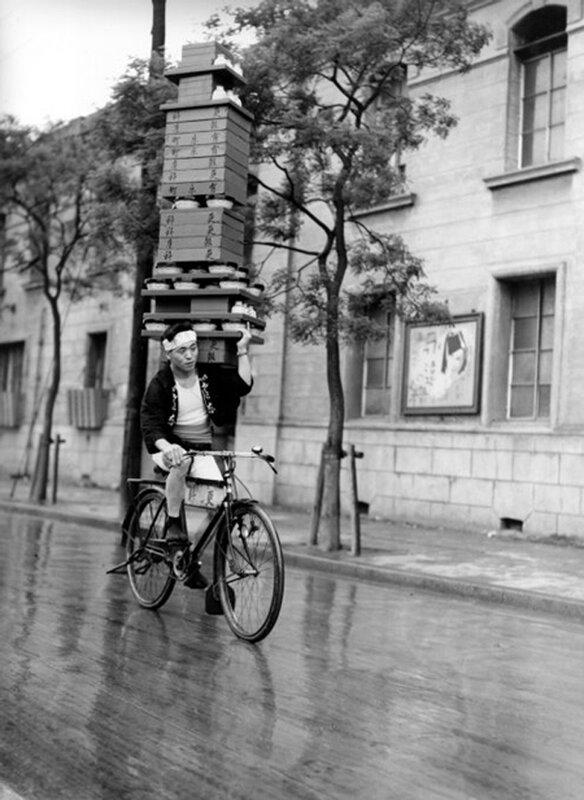 Об искусстве доставки еды на велосипедах