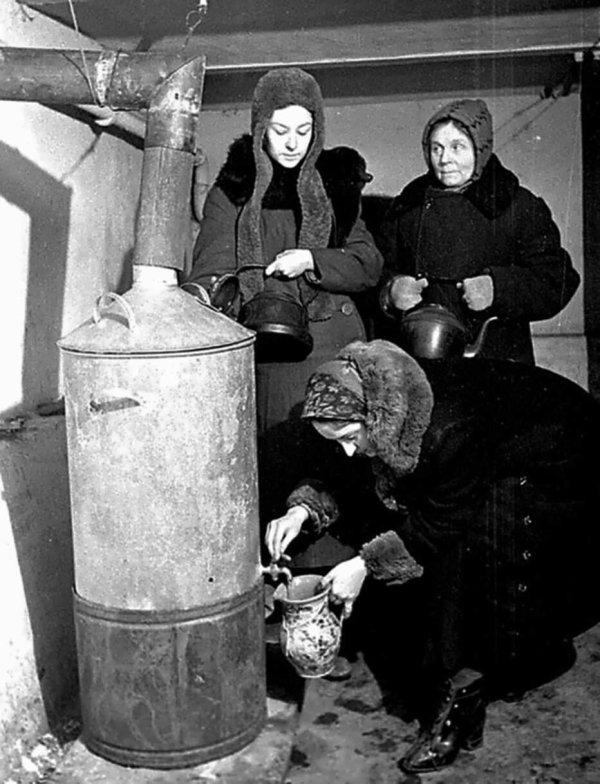 Лица Советской эпохи. Часть 129. Люди во время блокады ...