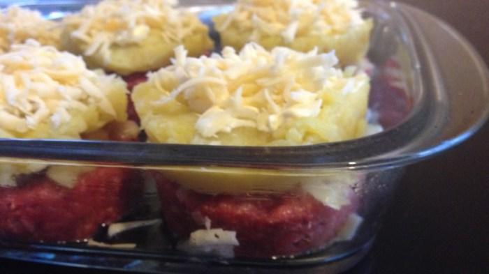 Котлеты по-новому (с картошкой и сыром)