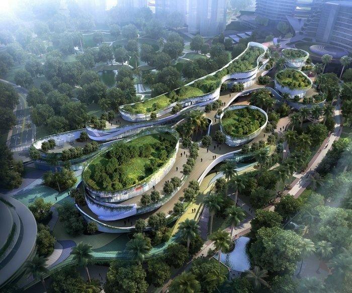 Современная архитектура иногда просто шокирует своими масштабами и элегантностью
