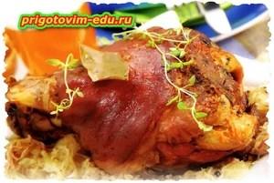 Свинина в пиве с квашеной капустой — Кулинарные рецепты с ...