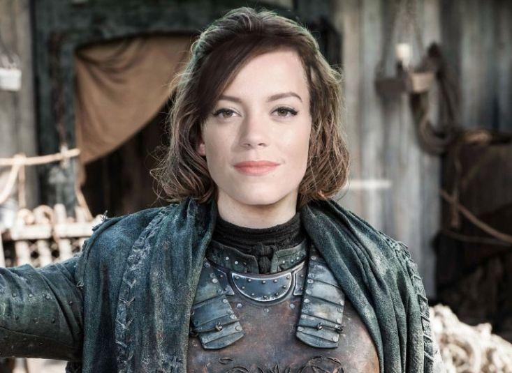 Лили Аллен в роли Яры Грейджой, игра престолов, актеры, tolkopozitiv.ru