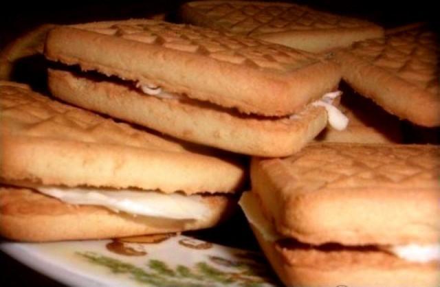 Печенье с маслом