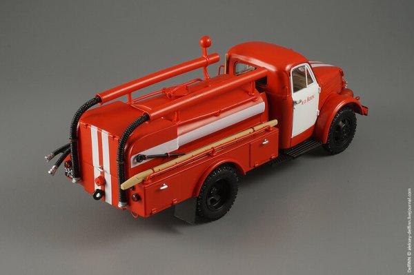 Пожарная автоцистерна упрощённая (4X2) АЦУ-20(51А)-60 ...