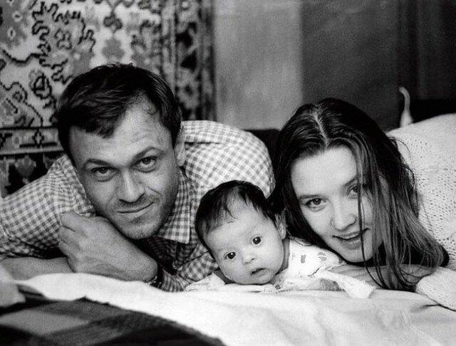 Юлия Меньшова с родителями Владимиром Меньшовым и Верой Алентовой