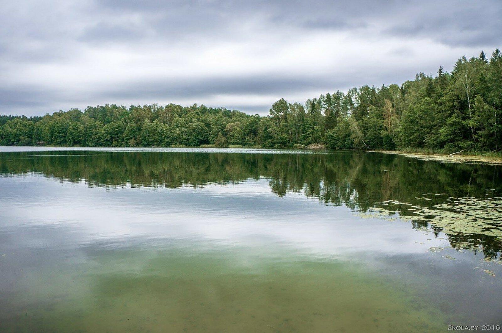 Озеро Воронец.