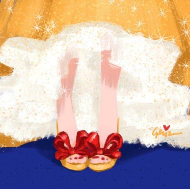 Диснеевские принцессы в туфлях от знаменитых брендов