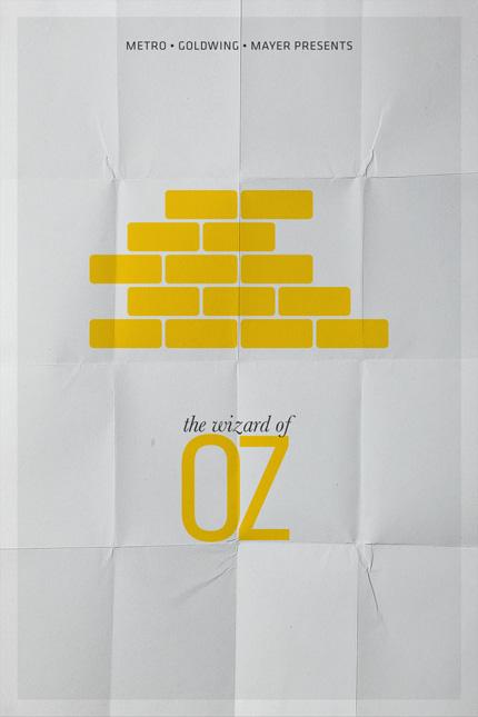 Мини-постеры к кинофильмам от Pedro Vidotto