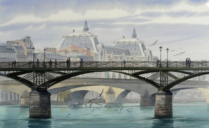 Мост искусств. Автор: Thierry Duval.