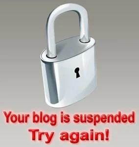 Блокировка блогов