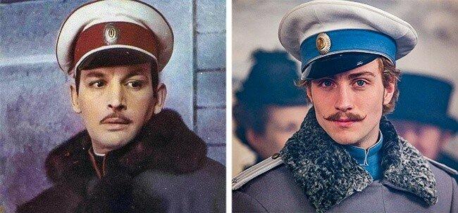 Василий Лановой / Аарон Тейлор-Джонсон.