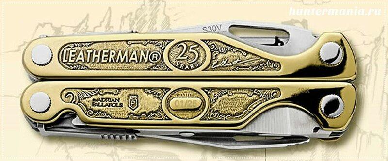 Самый дорогой карманный нож Leatherman Charge Dorado