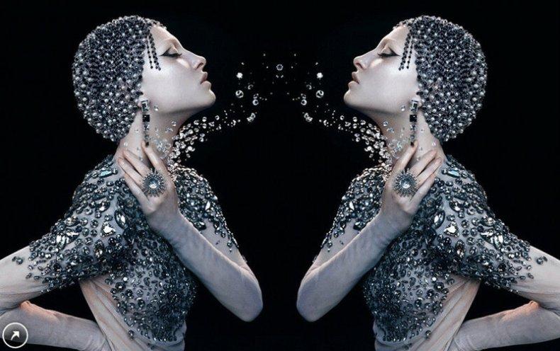 Гипнотичные GIF картины Джорджа Редхока