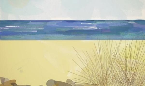 В Великобритании парализованная художница рисует глазами