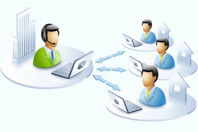 Удаленное администрирование компьютеров организации