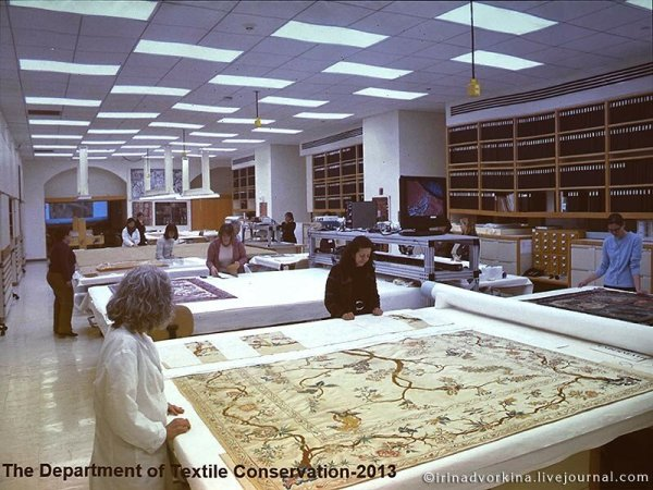 «Изучение и реставрация тканей в Метрополитен-музее ...